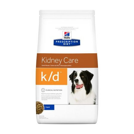 Croquettes Hill's Prescription Diet Canine Kidney Care k/d 12kg
