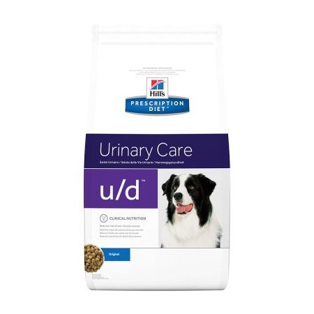 Croquettes Hill's Prescription Diet Canine Urinary Care u/d 12kg