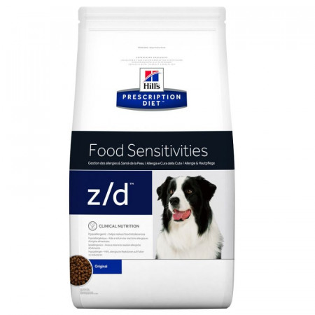 Croquettes Hill's Prescription Diet Canine Food Sensitivities z/d 3kg