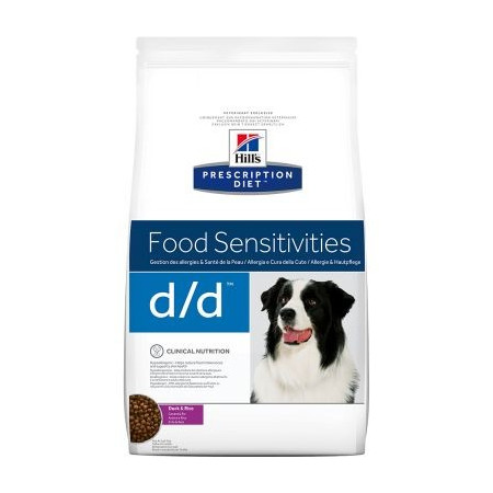 Croquettes Hill's Prescription Diet Canine Food Sensitivities d/d 5kg
