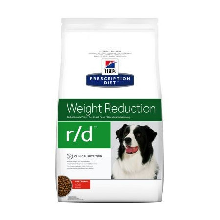 Croquettes Hill's Prescription Diet Canine Weight Reduction r/d 4 kg