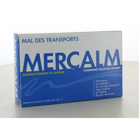 Mercalm Mal des Transports 15 comprimés