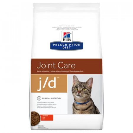 Croquettes Hill's Prescription Diet Féline Joint Care j/d 2kg