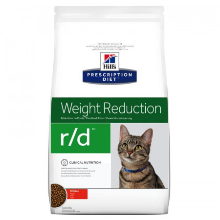 Croquettes Hill's Prescription Diet Féline Weight Reduction r/d 1.5kg