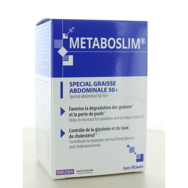 Metaboslim Spécial Graisse Abdominale 50+ 90 gélules végétales