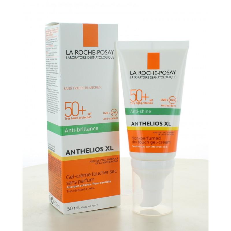 Gel-crème Toucher Sec sans parfum Anthelios XL 50+ La Roche-Posay 50 ml