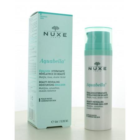 Émulsion Hydratante Révélatrice de Beauté Aquabella Nuxe 50 ml