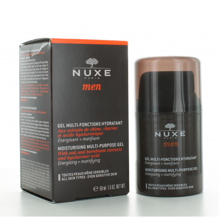 Gel Multi-Fonctions Hydratant Nuxe Men 50 ml