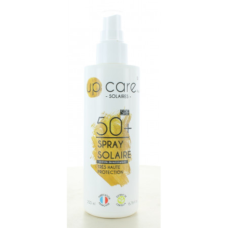 Up Care Spray Solaire Très Haute Protection SPF50+ 200ml