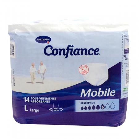 Confiance Mobile 14 Sous-vêtements Taille L