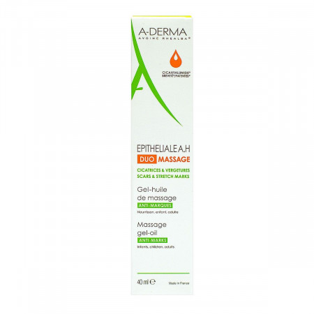ADerma Gel-huile de Massage Epitheliale A.H 40ml