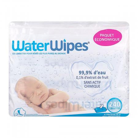 Lingettes pour Bébé WaterWipes X240
