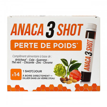 Anaca3 Shot Perte de Poids 14 unidoses