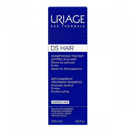 Shampooing Traitant Antipelliculaire DS Hair Uriage 200ml