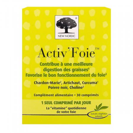 Activ'foie New Nordic 30 comprimés