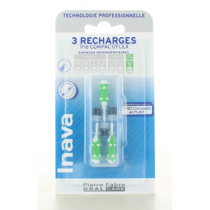 Recharges Trio Compact/Flex 6 Inava X3