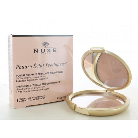 Poudre Compacte Bronzante Éclat Prodigieux Nuxe