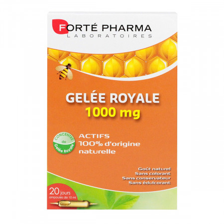 Gelée Royale 1000mg Forté Pharma 20 ampoules