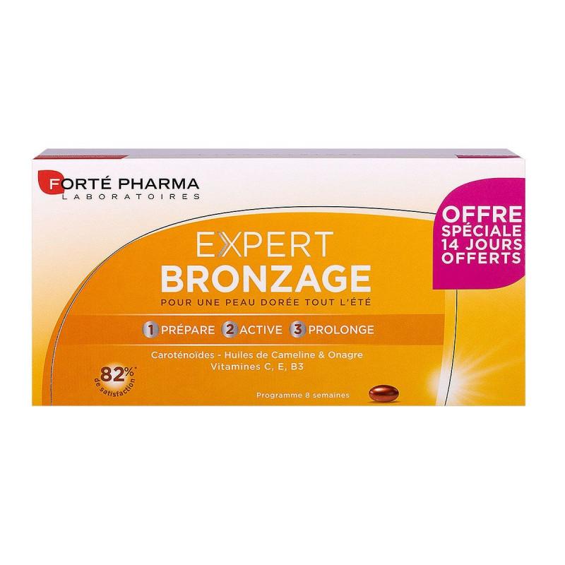 Expert Bronzage Forté Pharma 56 comprimés