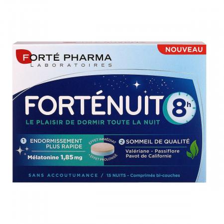 Forté Pharma Forténuit 8H 15 comprimés bi-couches