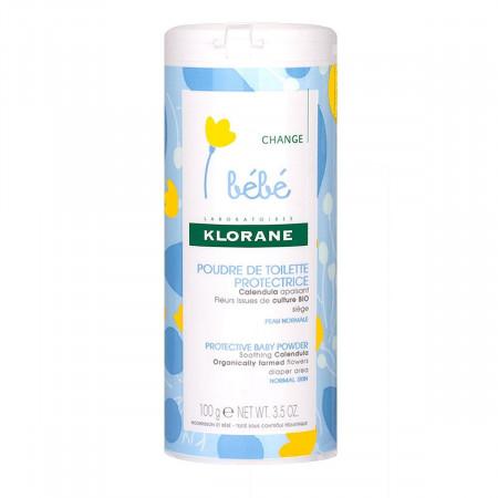 Poudre de Toilette Protectrice Bébé Klorane 100g