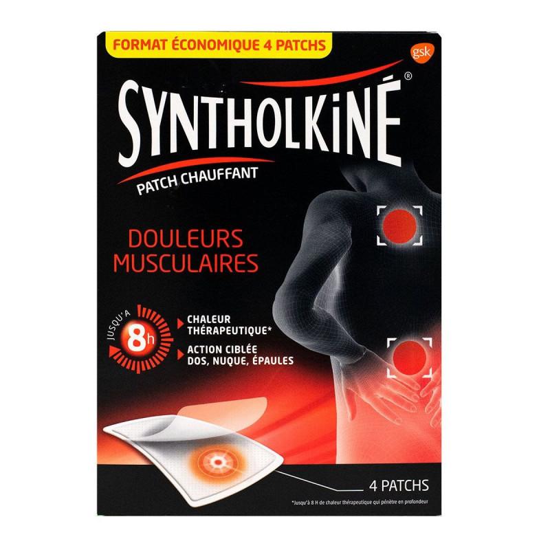 Patchs Chauffants Petit Format Syntholkiné X4
