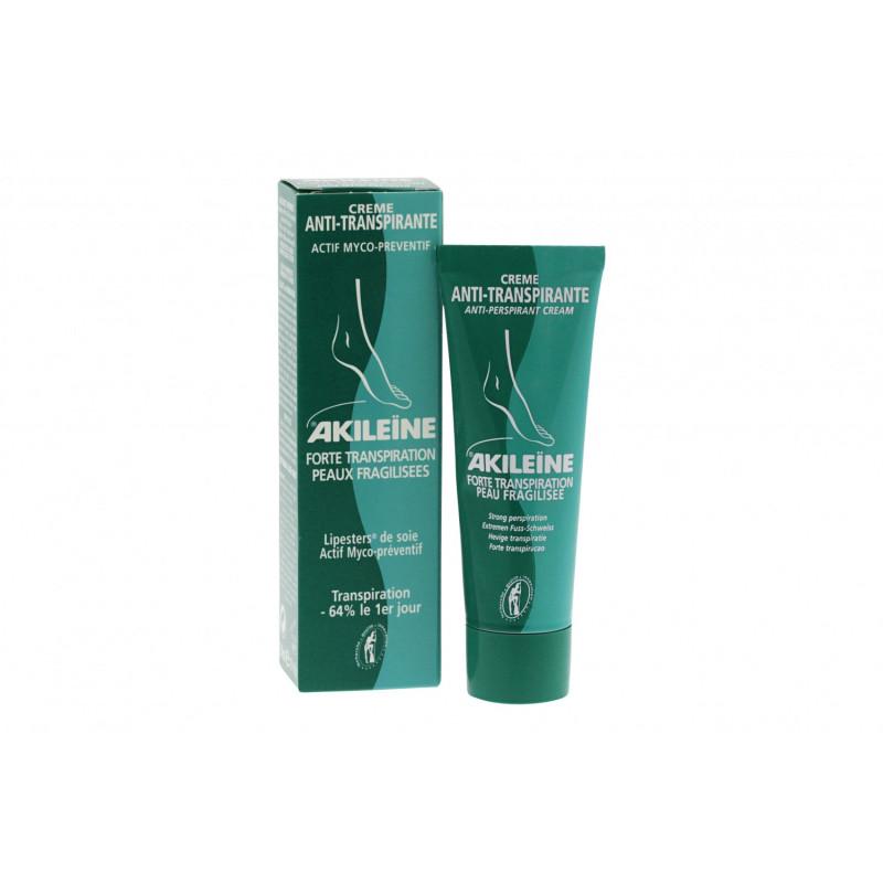 Akileïne Crème Anti-transpirante 50ml