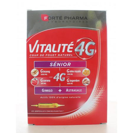 Forté Pharma Vitalité 4G Sénior 20 ampoules