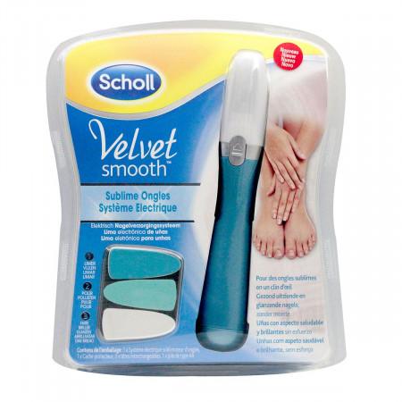 Scholl Velvet Smooth Lime Électrique Sublime Ongles