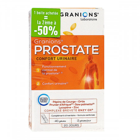 Granions Prostate 2x40 gélules