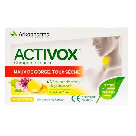 Arkopharma Activox Citron 24 comprimés à sucer