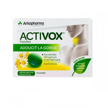 Arkopharma Activox Menthe Eucalyptus 24 pastilles