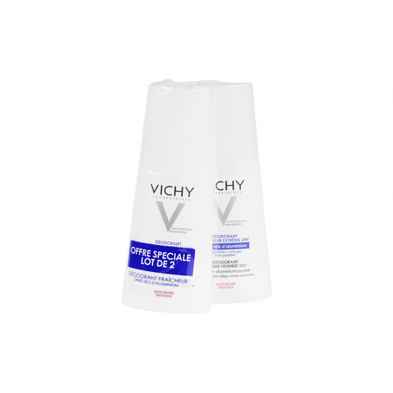 Vichy Déodorant Fraîcheur 2X100 ml