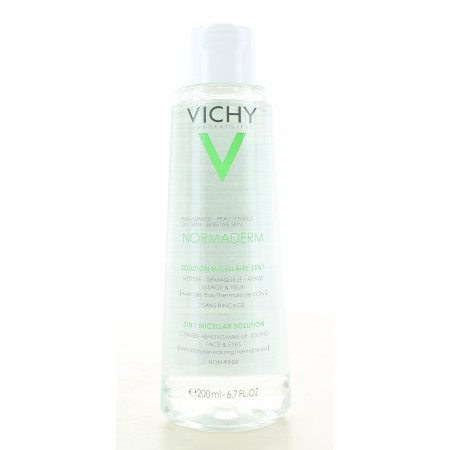 Vichy Normaderm Solution Micellaire 3en1 200ml