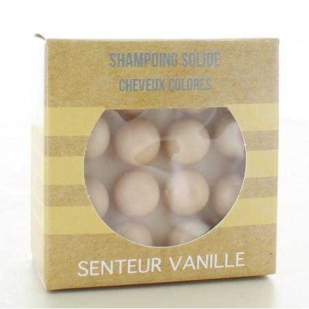 Shampooing Solide Cheveux Colorés Senteur Vanille 55g