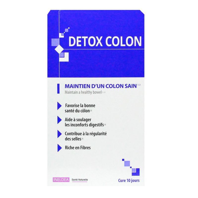 detox côlon en pharmacie
