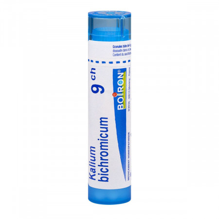 Kalium Bichromicum Tube Granules 9CH Boiron