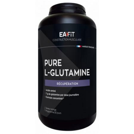 EaFit Pure L-Glutamine Saveur Orange 243g