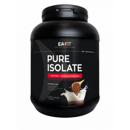EaFit Pure Isolate Saveur Chocolat 750g
