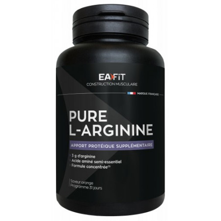 EaFit Pure L-Arginine Saveur Orange 141g