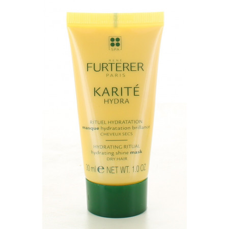 Furterer Karité Hydra Masque Hydratation Brillance 30ml