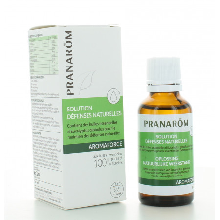 Solution Défenses Naturelles Aromaforce Pranarôm 30 ml