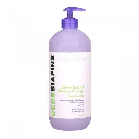 BébéBiafine Crème Lavante Cheveux et Corps 1L