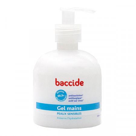 Baccide Gel Mains Peaux Sensibles 300ml