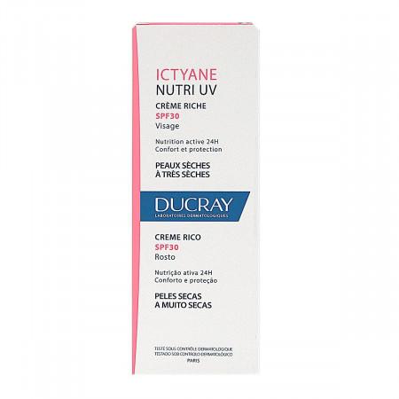 Ducray Ictyane Nutri UV Crème Riche SPF30 40ml