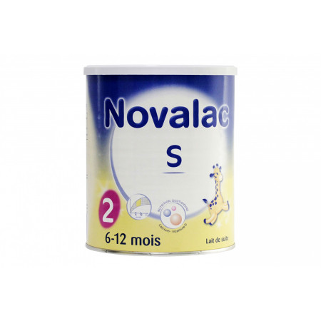 Novalac S 6-12 mois 800g