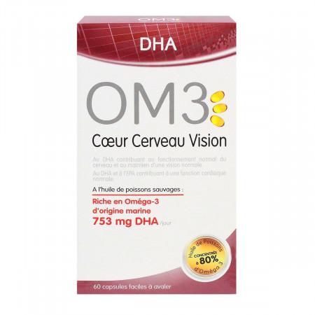 OM3 Cœur Cerveau Vision 60 capsules