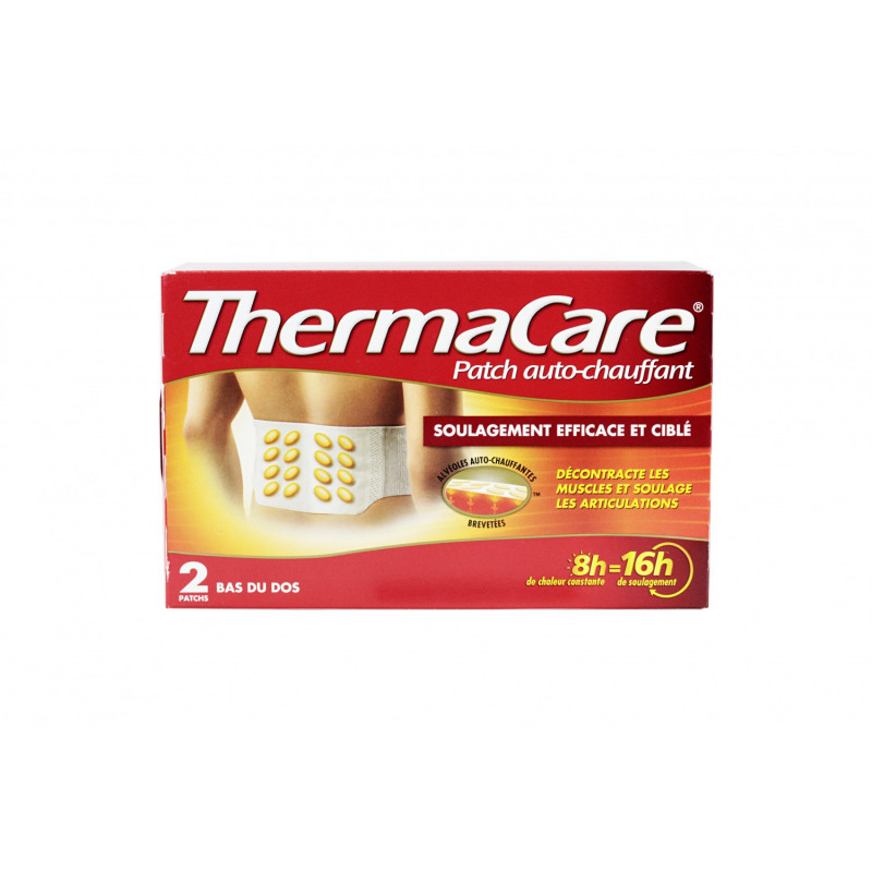 Thermacare Patch Bas du Dos X2