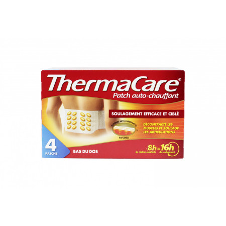 Thermacare Patch Bas du Dos X4