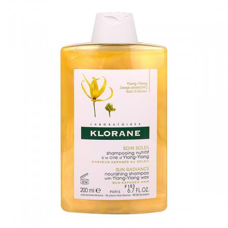 Klorane Shampooing à la Cire d'Ylang-ylang 200ml